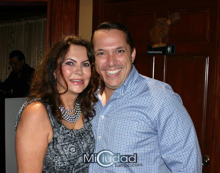 Norma Camero y Danny Alvarez