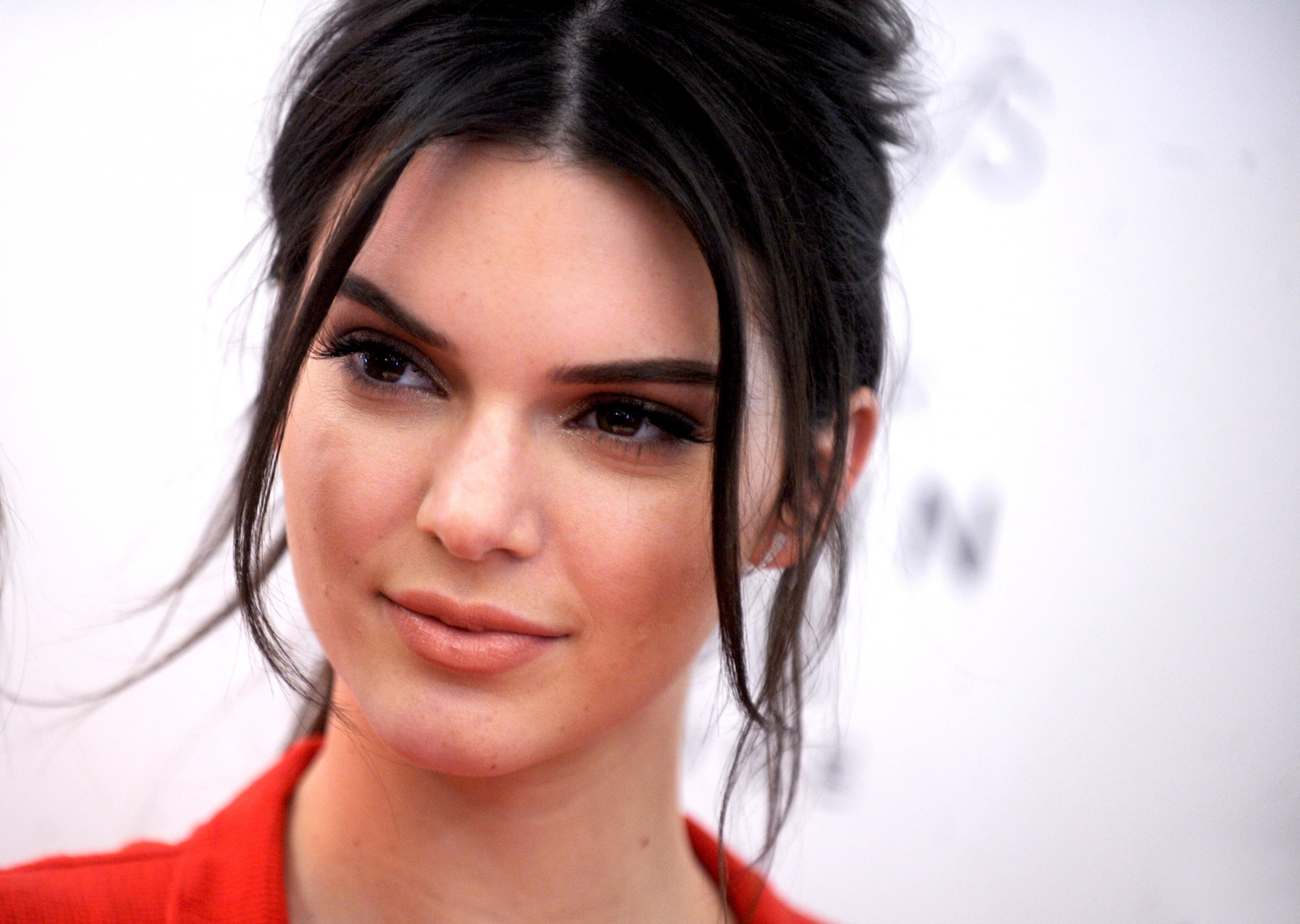 Kendall Jenner pictured at the launch of Estee Lauder's newest fragrance, Modern Muse Le Rouge at Macy's in New York City, NY, USA, September 18, 2015. Photo by Dennis van Tine/ABACAPRESS.COM
