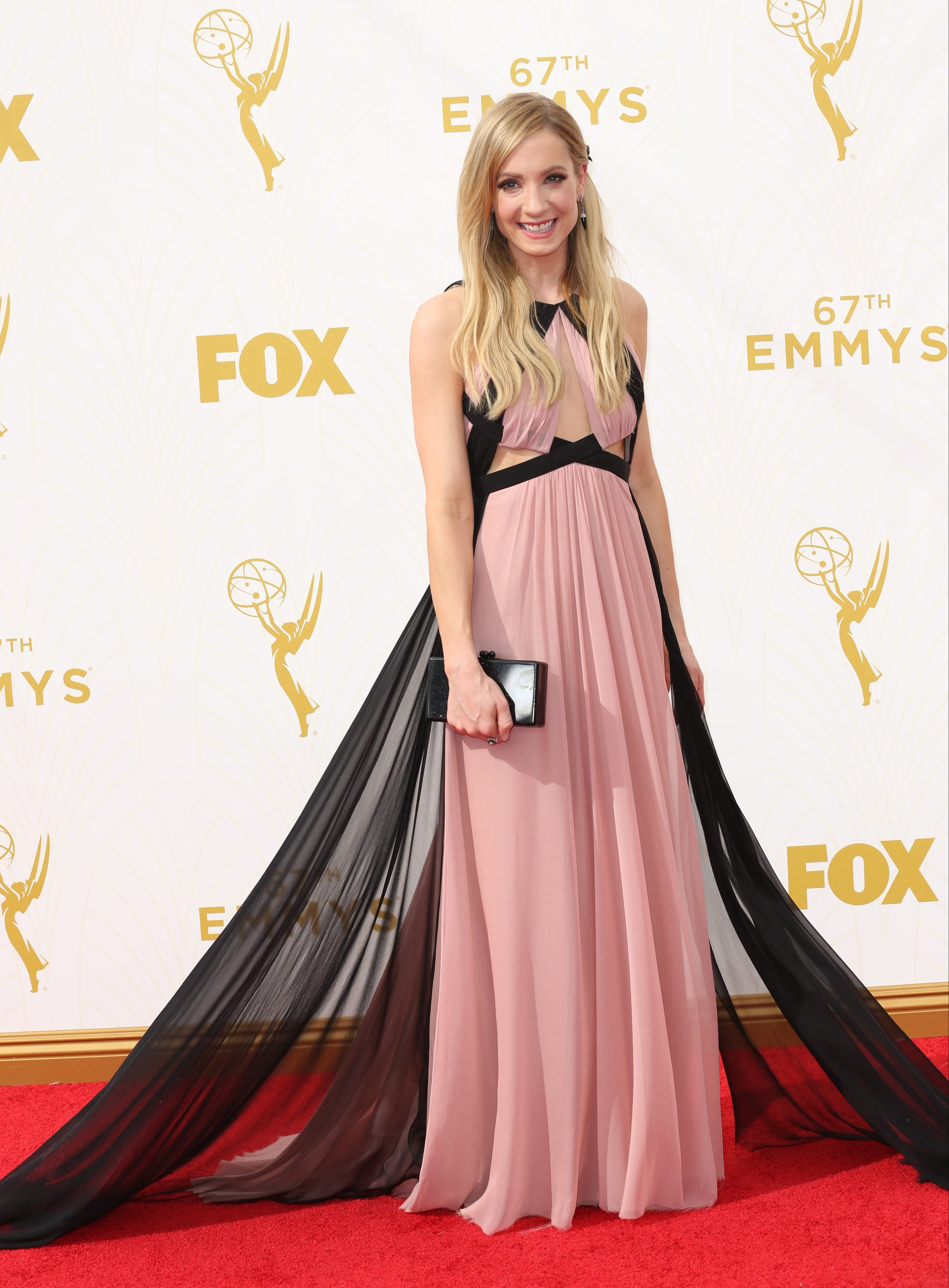 Celebrities arrive at 67th Emmys Red Carpet at Microsoft Theater.  Featuring: Joanne Froggatt Where: Los Angeles, California, United States When: 20 Sep 2015 Credit: Brian To/WENN.com