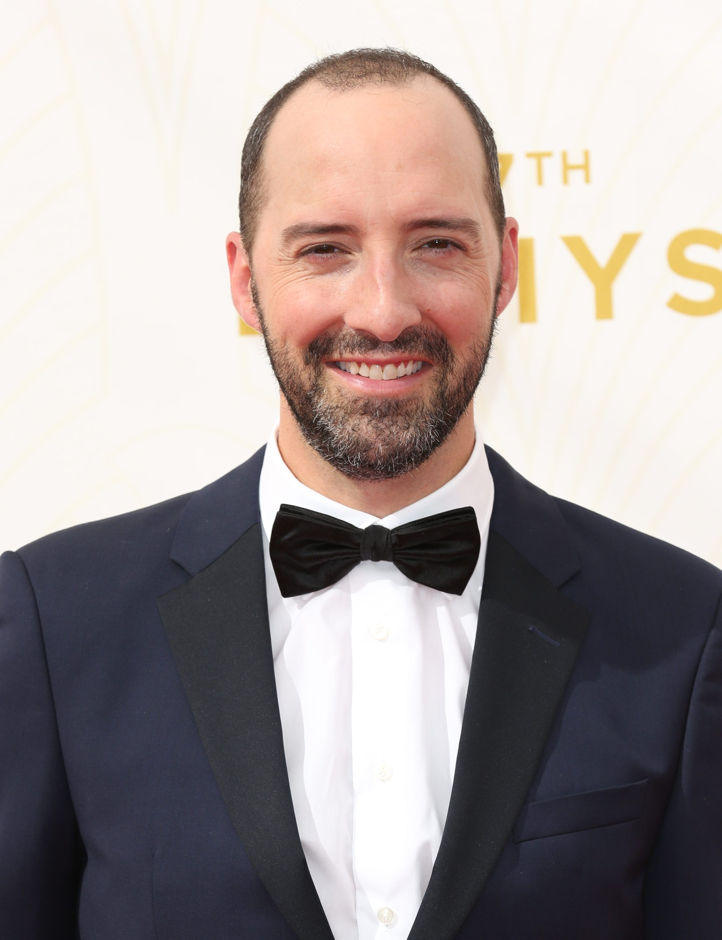 Celebrities arrive at 67th Emmys Red Carpet at Microsoft Theater.  Featuring: Tony Hale Where: Los Angeles, California, United States When: 20 Sep 2015 Credit: Brian To/WENN.com
