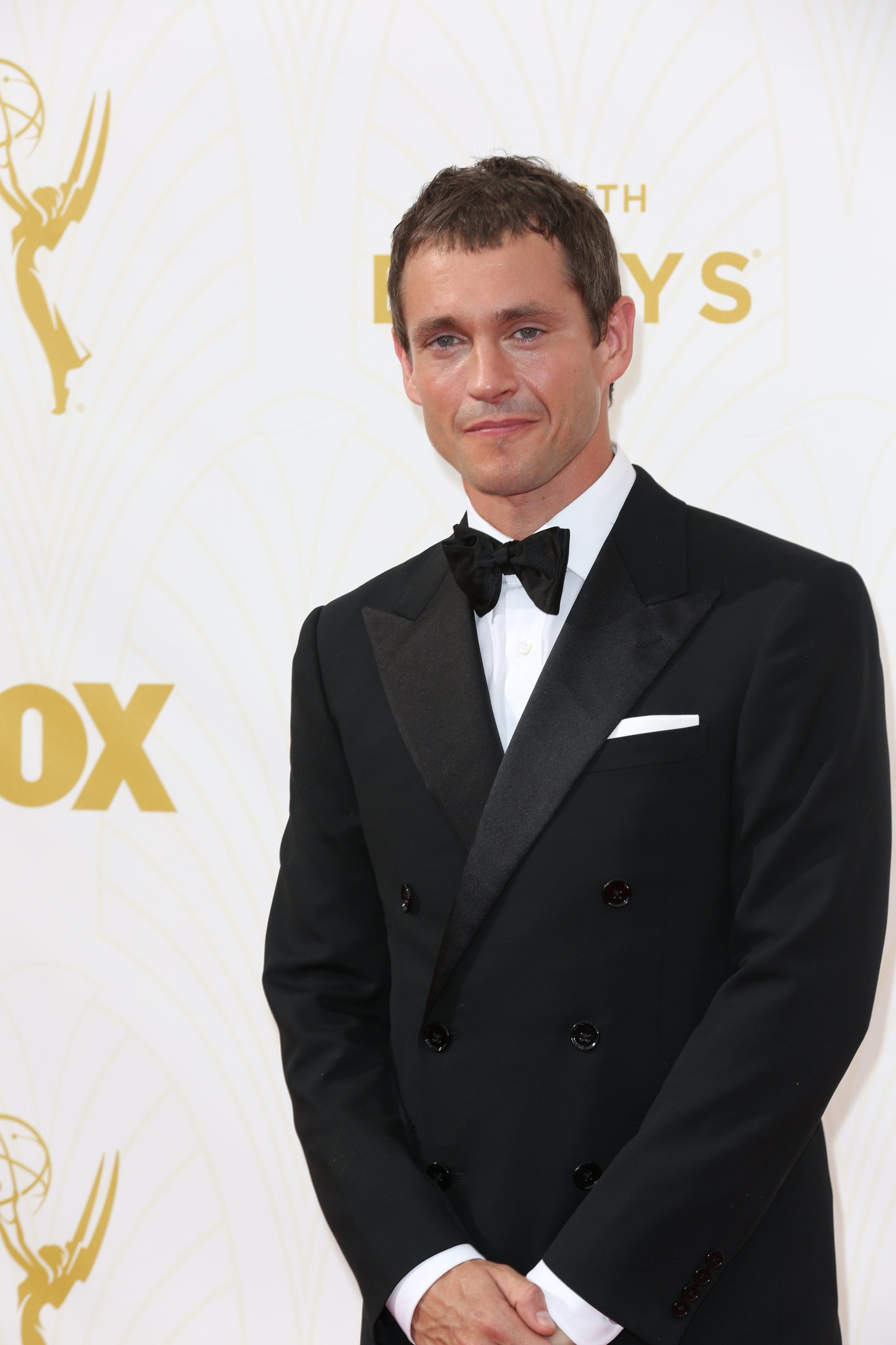 Celebrities arrive at 67th Emmys Red Carpet at Microsoft Theater.  Featuring: Hugh Dancy Where: Los Angeles, California, United States When: 20 Sep 2015 Credit: Brian To/WENN.com