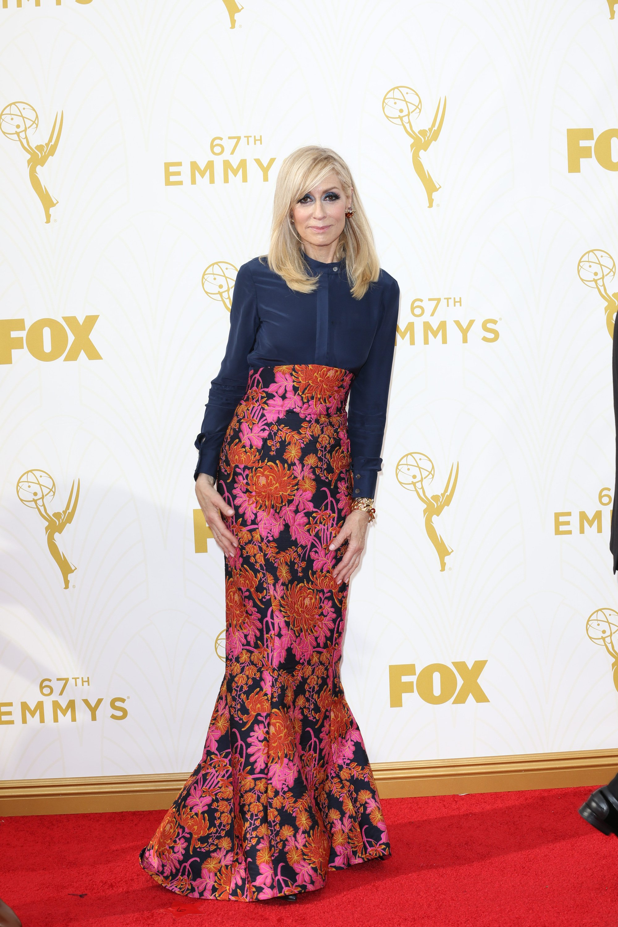 Celebrities arrive at 67th Emmys Red Carpet at Microsoft Theater.  Featuring: Judith Light Where: Los Angeles, California, United States When: 20 Sep 2015 Credit: Brian To/WENN.com