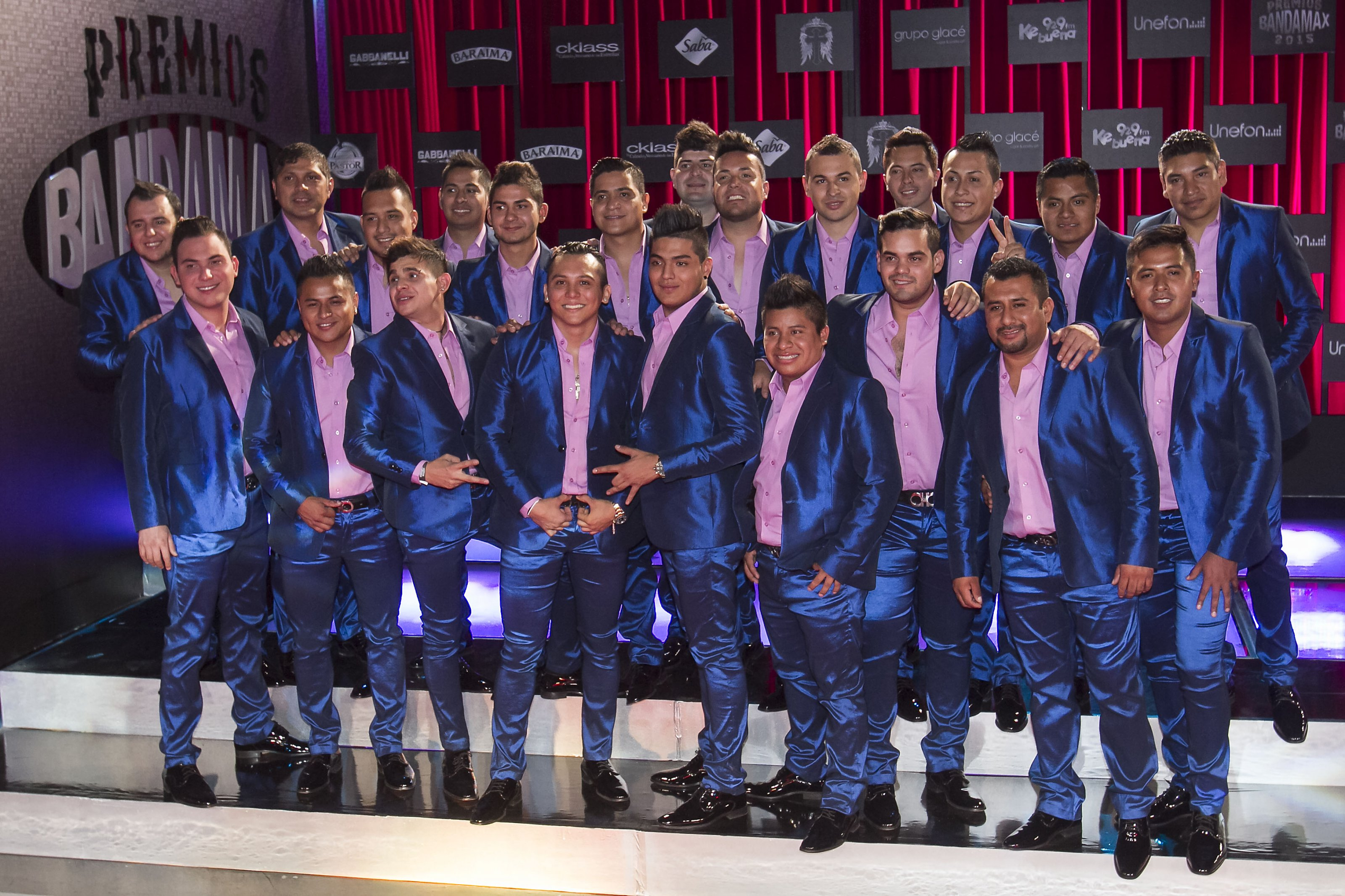 TO-38214. CIUDAD DE MEXICO. AGOSTO 11. Entrega de Premios Bandamax 2015 a lo mas destacado de la musica grupera, en el Palacio de los Deportes. (Photo by Luis Ortiz/Clasos).