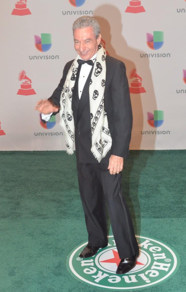 41120241. Las Vegas.- César Costa, durante la alfombra verde de los Grammy Latino 2014. NOTIMEX/FOTO/JUAN COSME/COR/ACE/