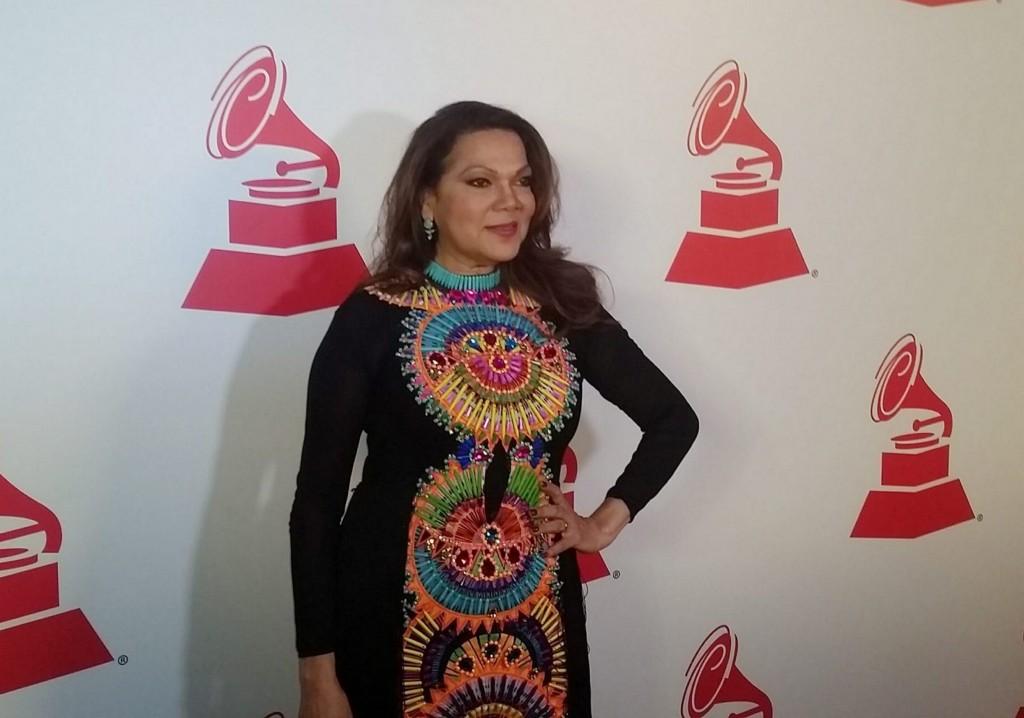 51118158. Las Vegas, 18 Nov. 2015 (Notimex-José Romero).- Ángela Carrasco, asistió a los premios especiales de la XVI entrega anual de los Grammy Latino fueron entregados hoy aquí a leyendas vivientes de la música. NOTIMEX/FOTO/ JOSÉ ROMERO MATA/FRE/ACE/
