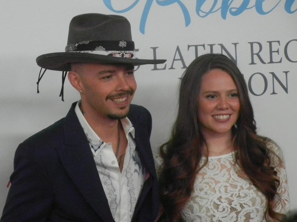 51119022. Las Vegas, 19 Nov. 2015 (Notimex-José Romero Mata).- Jesse & Joy en la alfombra roja del concierto que ofreció Roberto Carlos, que fue homenajeado como Persona del 2015 por la Academia del Grammy Latino. NOTIMEX/FOTO/JOSÉ ROMERO MATA/COR/ACE/