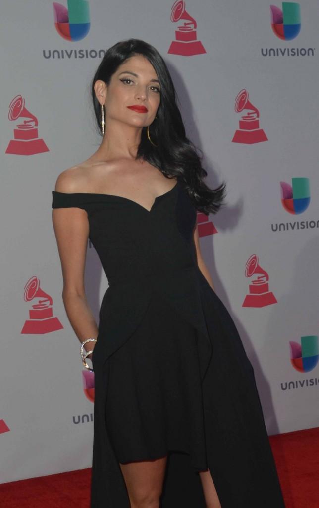 51119209. Las Vegas, 19 nov 2015 (Notimex-Juan Cosme).- Natalia Jiménez, desfiló por la alfombra roja de la XVI entrega anual del Grammy Latino, hoy en un casino de Las Vegas. NOTIMEX/FOTO/JUAN COSME/COR/ACE
