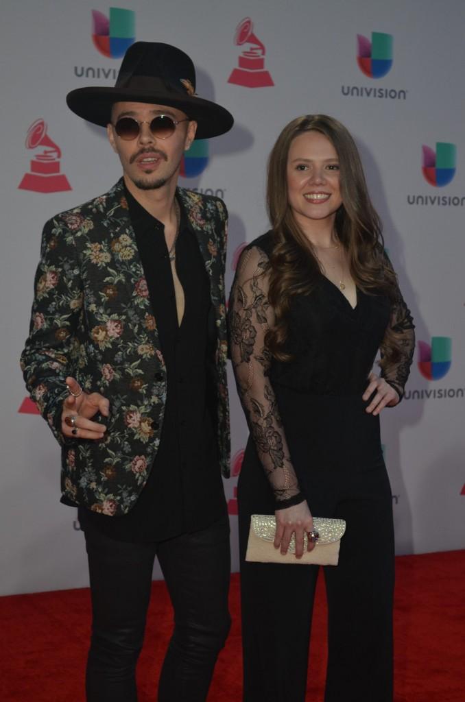 51119214. Las Vegas, 19 nov 2015 (Notimex-Juan Cosme).- Jesse & Joy, desfilaron por la alfombra roja de la XVI entrega anual del Grammy Latino, hoy en un casino de Las Vegas. NOTIMEX/FOTO/JUAN COSME/COR/ACE